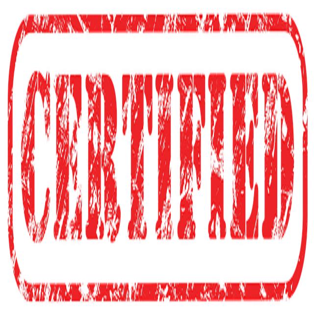 2ServiceU Food Certificate